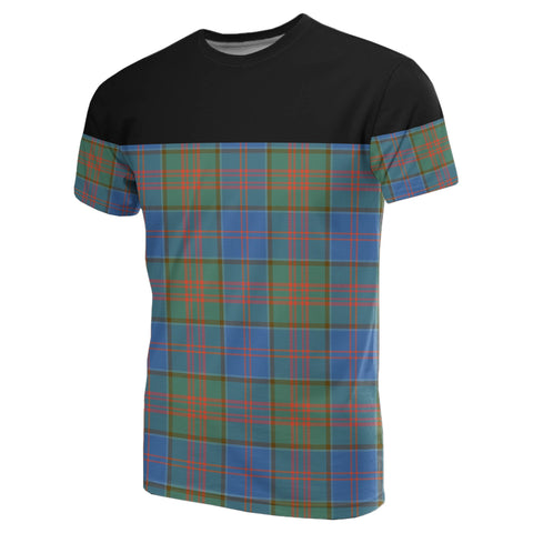 Tartan Horizontal T-Shirt - Stewart Of Appin Hunting Ancient