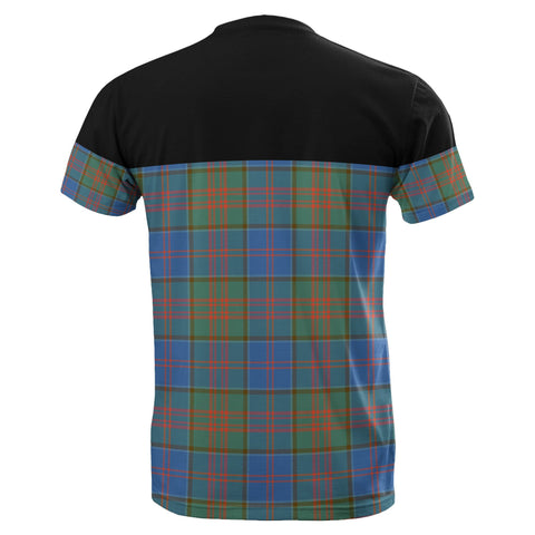 Tartan Horizontal T-Shirt - Stewart Of Appin Hunting Ancient - BN