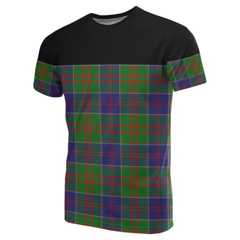 Image of Tartan Horizontal T-Shirt - Stewart Of Appin Hunting Modern