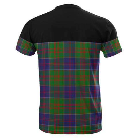 Image of Tartan Horizontal T-Shirt - Stewart Of Appin Hunting Modern - BN