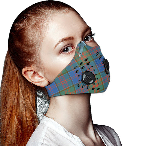 Image of Stewart of Appin Hunting Ancient Tartan Dust-proof Sports Masks ( Model 1) - TH88 (USA Shipping Line)