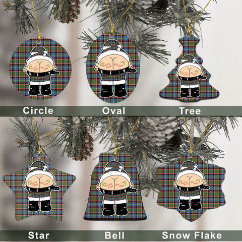 Stirling & Bannockburn District Tartan Christmas Decor - Ross Ceramic Ornament - Funny Style A7
