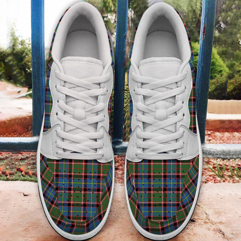 Stirling & Bannockburn District Tartan Low Sneakers (Women's/Men's) A7