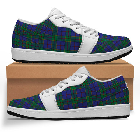 Image of Strachan Tartan Low Sneakers (Women's/Men's) A7