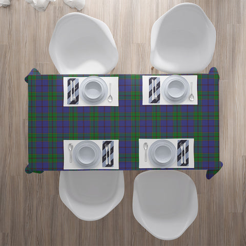 Image of Strachan Tartan Tablecloth | Home Decor