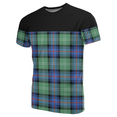 Tartan Horizontal T-Shirt - Sutherland Old Ancient