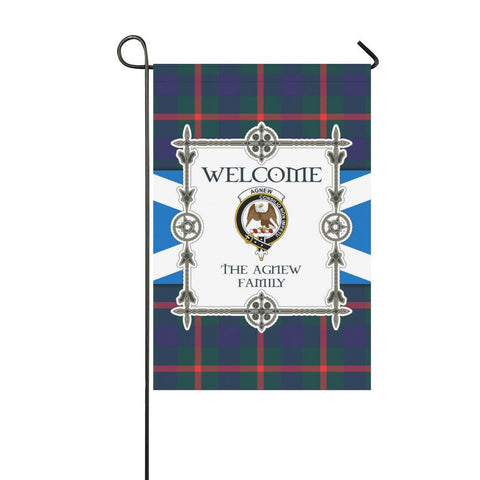 Image of Agnew Tartan Garden Flag - New Version K7