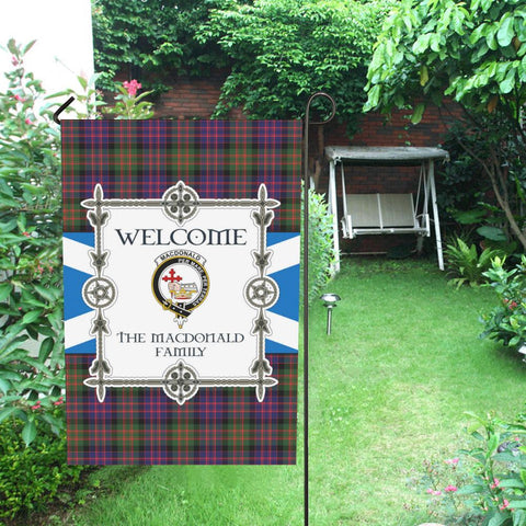Macdonald Tartan Garden Flag - New Version K7