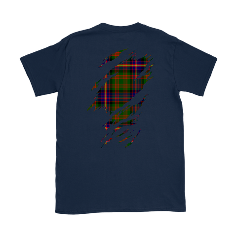 Image of Cochrane Modern Lives in me Tartan T Shirt K7