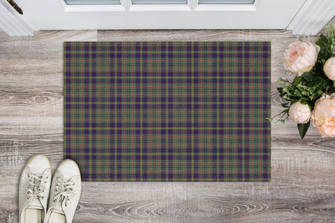 Taylor Weathered Tartan Carpets Front Door A91