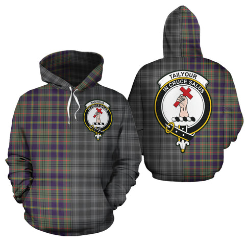 Taylor Weathered Clan Half Of Me New Version Crest Tartan Hoodie