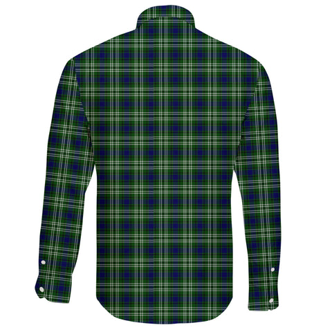 Tweedside District Tartan Clan Long Sleeve Button Shirt A91