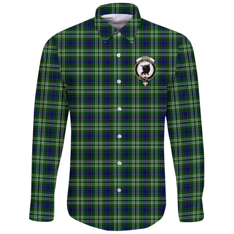 Tweedside District Tartan Clan Long Sleeve Button Shirt | Scottish Clan