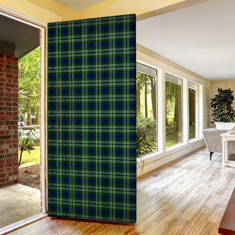 Tweedside District Tartan Door Sock Cover