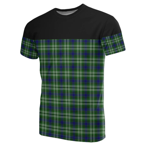 Tartan Horizontal T-Shirt - Tweedside District