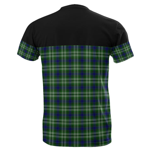 Tartan Horizontal T-Shirt - Tweedside District - BN