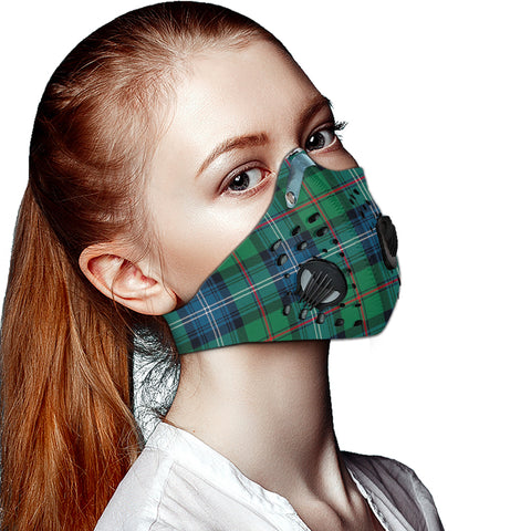 Urquhart Ancient Tartan Dust-proof Sports Masks ( Model 1) - TH88 (USA Shipping Line)