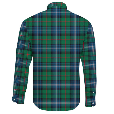 Urquhart Ancient Tartan Clan Long Sleeve Button Shirt A91