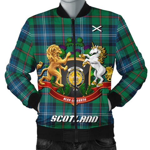 Urquhart Ancient | Tartan Bomber Jacket | Scottish Jacket | Scotland Clothing