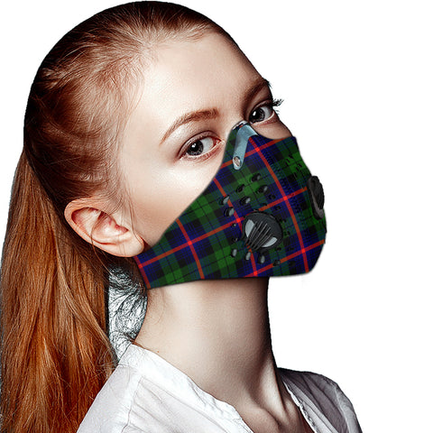 Urquhart Modern Tartan Dust-proof Sports Masks ( Model 1) - TH88 (USA Shipping Line)