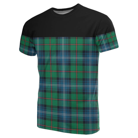 Tartan Horizontal T-Shirt - Urquhart Ancient