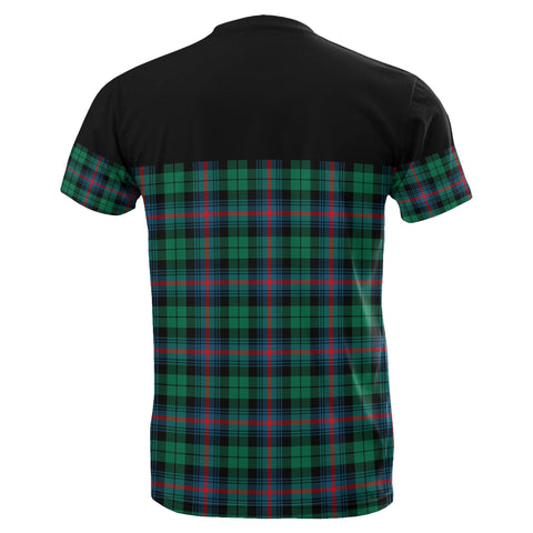 Tartan Horizontal T-Shirt - Urquhart Broad Red Ancient - BN
