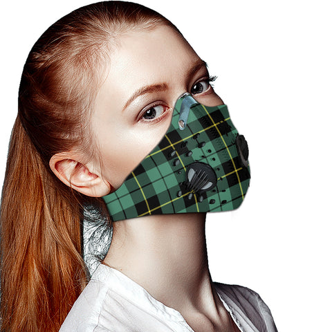 Wallace Hunting Ancient Tartan Dust-proof Sports Masks ( Model 1) - TH88 (USA Shipping Line)