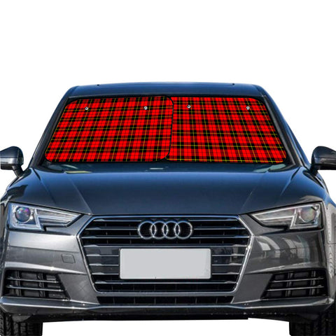 Wallace Hunting Red Clan Tartan Scotland Car Sun Shade 2pcs