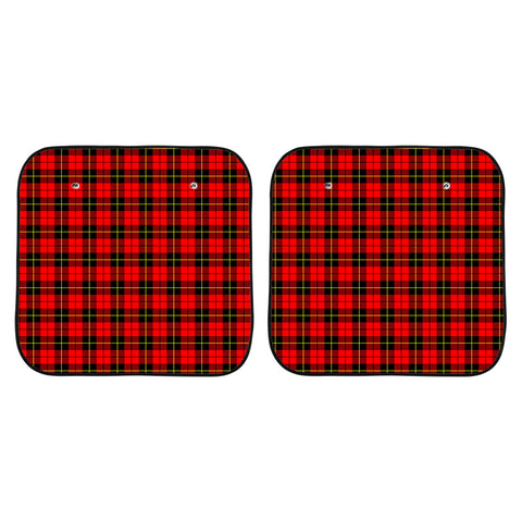 Wallace Hunting Red Clan Tartan Scotland Car Sun Shade 2pcs K7