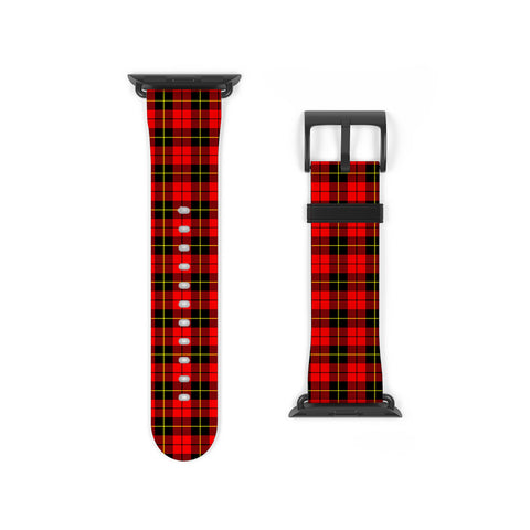 Wallace Hunting Red Scottish Clan Tartan Watch Band Apple Watch