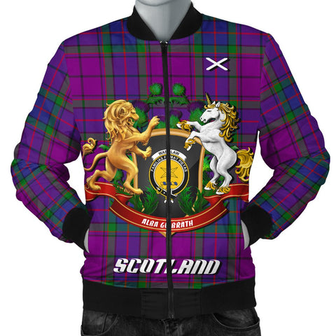 Wardlaw Modern | Tartan Bomber Jacket | Scottish Jacket | Scotland Clothing