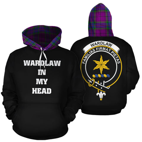 Wardlaw Modern In My Head Hoodie Tartan Scotland K9