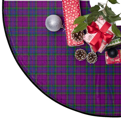 Wardlaw Modern Tartan Tree Skirt Christmas