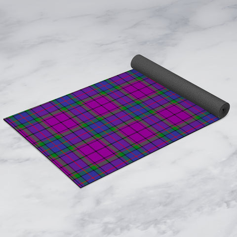 Image of Wardlaw Modern Clan Tartan Yoga mats