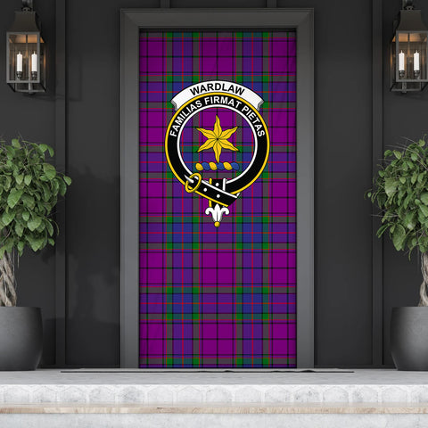 Wardlaw Modern Tartan Door Sock Cover