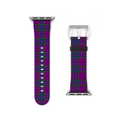 Wardlaw Modern Scottish Clan Tartan Watch Band Apple Watch