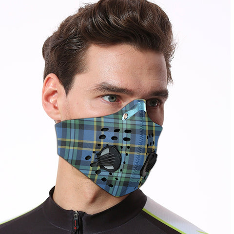 Image of Weir Ancient Tartan Dust-proof Sports Masks ( Model 1) - TH88 (USA Shipping Line)