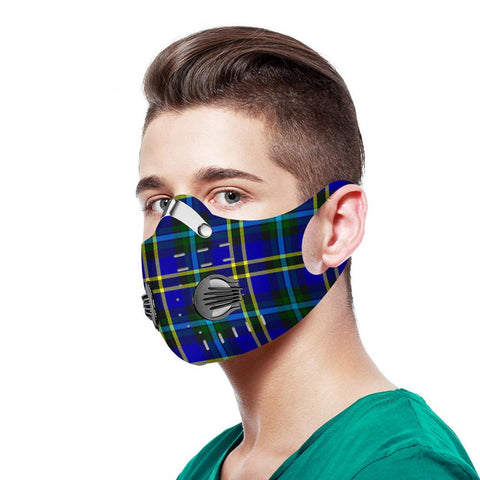 Weir Modern Tartan Dust-proof Sports Masks - TH88