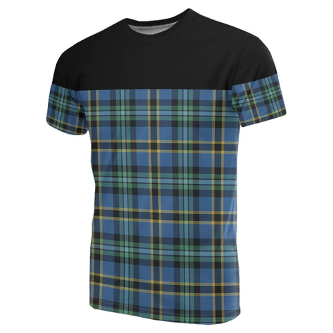 Tartan Horizontal T-Shirt - Weir Ancient