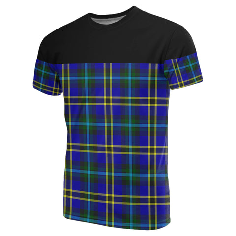Image of Tartan Horizontal T-Shirt - Weir Modern