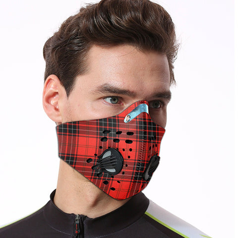 Wemyss Modern Tartan Dust-proof Sports Masks ( Model 1) - TH88 (USA Shipping Line)
