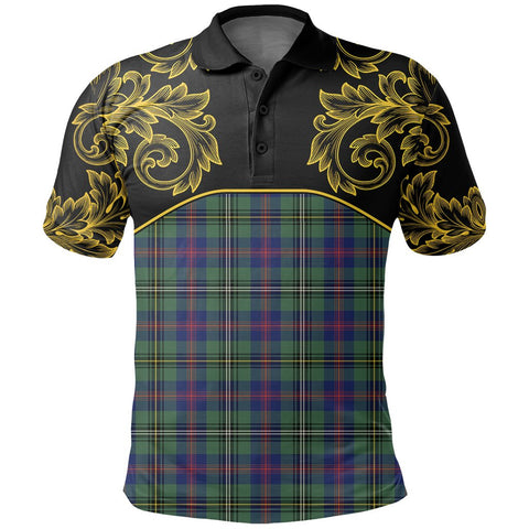 Wood Modern Tartan Clan Crest Polo Shirt - Empire I - HJT4 - Scottish Clans Store - Tartan Clans Clothing - Scottish Tartan Shopping - Clans Crest - Shopping In scottishclans - Polo Shirt For You