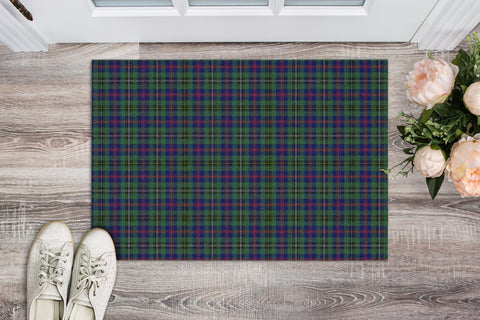 Wood Modern Tartan Carpets Front Door A91