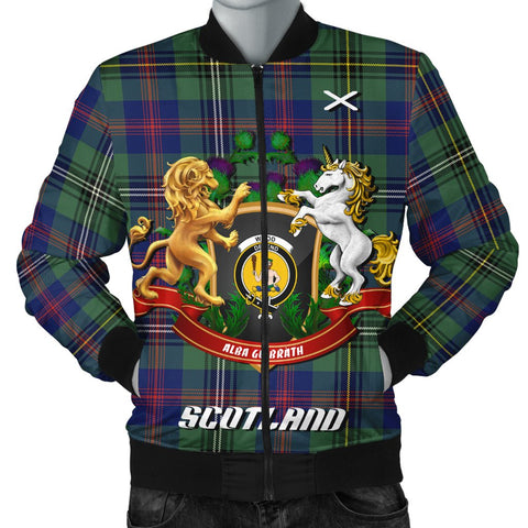 Wood Modern | Tartan Bomber Jacket | Scottish Jacket | Scotland Clothing