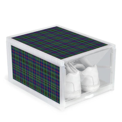 Wood Modern Clan Tartan Scottish Shoe Organizers