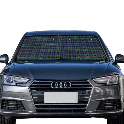 Wood Modern Clan Tartan Scotland Car Sun Shade 2pcs