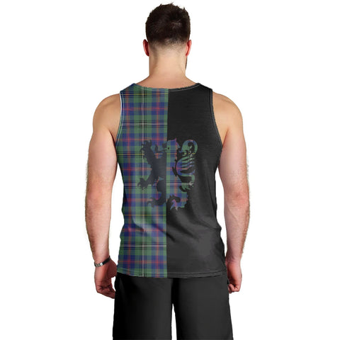 Wood Modern Clan Tank Top Lion Rampant