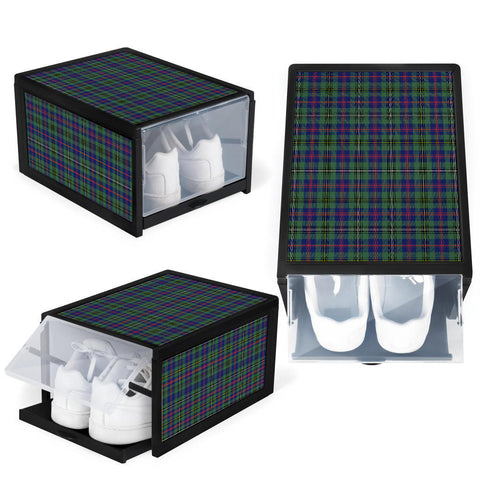Wood Modern Clan Tartan Scottish Shoe Organizers K9