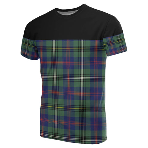 Tartan Horizontal T-Shirt - Wood Modern