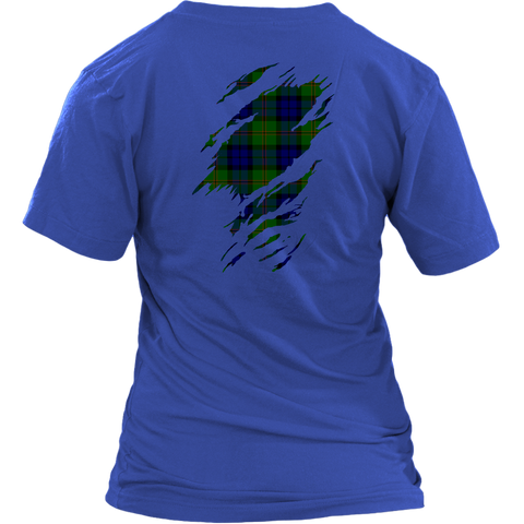 Image of Dundas Modern Lives in me Tartan T Shirt K7